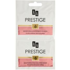 AA Prestige Intensive Skin Care nyugtató masz a vörös és irritált bőrre  10 ml