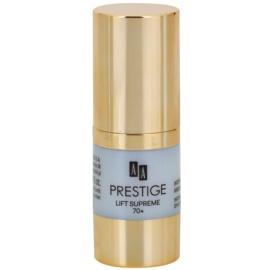 AA Prestige Lift Supreme 70+ интензивен изглаждащ крем за околоочния контур  15 мл.
