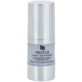 AA Prestige Lumi Supreme rozjasňující oční krém proti vráskám a tmavým kruhům  15 ml