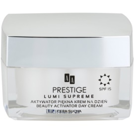 AA Prestige Lumi Supreme aktivní hydratační krém SPF 15  50 ml