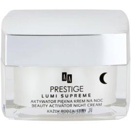 AA Prestige Lumi Supreme noční aktivní krém pro zkrášlení pleti  50 ml