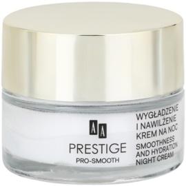 AA Prestige Pro-Smooth noční vyhlazující krém s hydratačním účinkem  50 ml