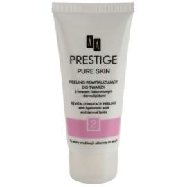 AA Prestige Pure Skin revitalizáló peeling hialuronsavval  75 ml