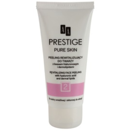 AA Prestige Pure Skin revitalizační peeling s kyselinou hyaluronovou  75 ml