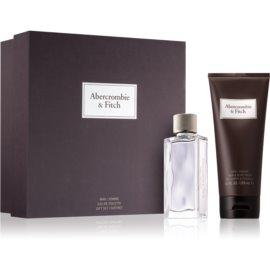 Abercrombie & Fitch First Instinct darilni set II. (za moške) toaletna voda 50 ml + šampon in gel za prhanje 200 ml