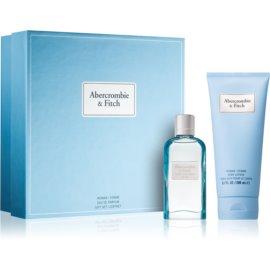 Abercrombie & Fitch First Instinct Blue darilni set III. (za ženske) parfum 50 ml + losjon za telo 200 ml