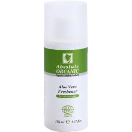 Absolute Organic Aloe Vera Reinigungstonikum für alle Hauttypen  150 ml
