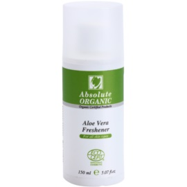 Absolute Organic Aloe Vera čisticí tonikum pro všechny typy pleti  150 ml