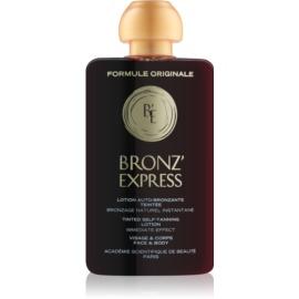 Academie Bronz' Express tónico com cor para rosto e corpo  100 ml