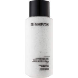 Academie Normal to Combination Skin latte detergente delicato effetto esfoliante 2 in 1  250 ml