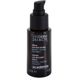 Academie Age Recovery intensives, regenerierendes Serum Creme zur Wiederherstellung der Festigkeit der Haut (Peptides, Calcium, Vitamin C) 30 ml