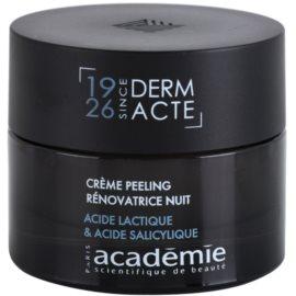 Academie Derm Acte Intense Age Recovery éjszakai ránctalanító krém peeling hatással  50 ml