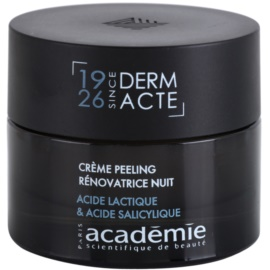 Academie Derm Acte Intense Age Recovery Anti-Wrinkle Night Cream with Exfoliating Effect  50 ml
