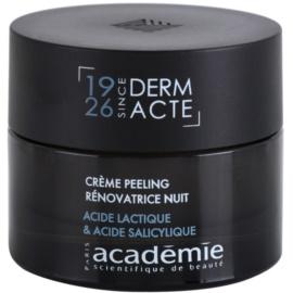 Academie Age Recovery przeciwzmarszczkowy krem na noc z efektem peelingu (Lactid Acid & Salicylic Acid) 50 ml