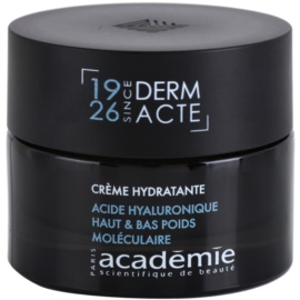 Academie Dry Skin intenzív hidratáló krém (Hyaluronic Acid High & Low Molecullar Weight) 50 ml