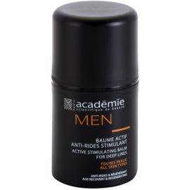 Academie Men Balsam de față activ antirid  50 ml