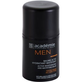 Academie Men aktivni vlažilni balzam z mat učinkom  50 ml