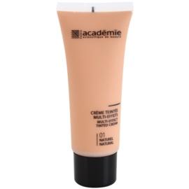 Academie Make-up Multi-Effect tonirana krema za popolno polt odtenek 01 Natural 40 ml