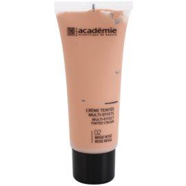 Academie Make-up Multi-Effect crema con color para una piel perfecta  tono 02 Rose Beige 40 ml
