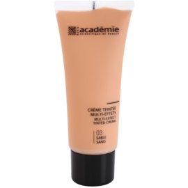 Academie Make-up Multi-Effect Getinte Crème voor Perfecte Huid  Tint  03 Sand 40 ml