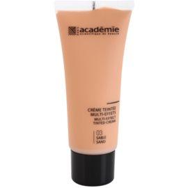 Academie Make-up Multi-Effect tonirana krema za popolno polt odtenek 03 Sand 40 ml