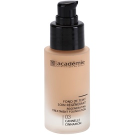 Academie Make-up Regenerating Liquid Foundation With Moisturizing Effect Shade 03 Cinnamon 30 ml