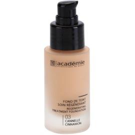 Academie Make-up Regenerating  tekoči puder z vlažilnim učinkom odtenek 03 Cinnamon 30 ml