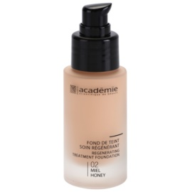 Academie Make-up Regenerating Liquid Foundation With Moisturizing Effect Shade 02 Honey 30 ml