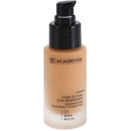 Academie Make-up Regenerating Liquid Foundation With Moisturizing Effect Shade 05 Mocha 30 ml