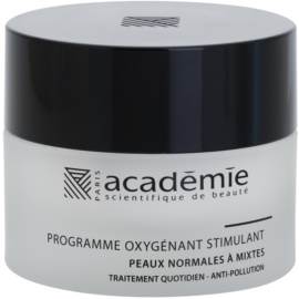 Academie Normal to Combination Skin crema hidratante y fortalecedora para rostro   50 ml
