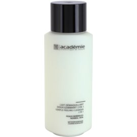 Academie Normal to Combination Skin Sanfte Reinigungsmilch mit Exfoliationswirkung 2in1  250 ml