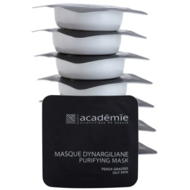Académie Oily Skin masque purifiant anti-pores dilatés  8 x 10 ml