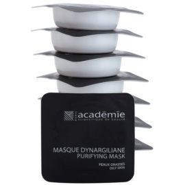 Academie Oily Skin čisticí maska na rozšířené póry  8 x 10 ml