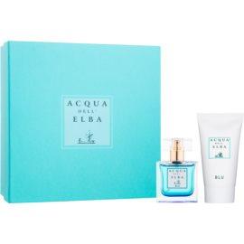 Acqua dell' Elba Blu Women dárková sada II.  parfémovaná voda 50 ml + tělový krém 50 ml