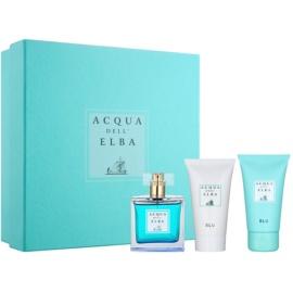 Acqua dell' Elba Blu Women Geschenkset III.  Eau de Toilette 100 ml + Duschgel 50 ml + Körpercreme 50 ml