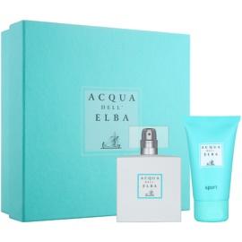 Acqua dell' Elba Sport ajándékszett I.  Eau de Toilette 50 ml + tusfürdő gél 50 ml