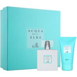 Acqua dell' Elba Sport zestaw upominkowy I.  woda toaletowa 50 ml + żel pod prysznic 50 ml