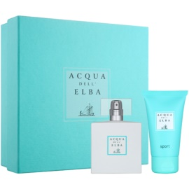 Acqua dell' Elba Sport Geschenkset I.  Eau de Toilette 50 ml + Duschgel 50 ml