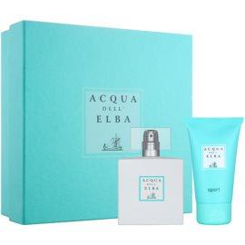 Acqua dell' Elba Sport zestaw upominkowy II.  woda perfumowana 50 ml + żel pod prysznic 50 ml