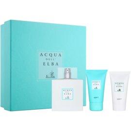 Acqua dell' Elba Sport ajándékszett III.  Eau de Toilette 100 ml + tusfürdő gél 50 ml + testápoló krém 50 ml