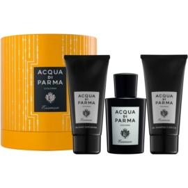 Acqua di Parma Colonia Essenza dárková sada  kolínská voda 100 ml + sprchový gel 75 ml + balzám po holení 75 ml