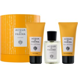 Acqua di Parma Colonia Gift Set  Cologne 100 ml + Body Lotion 75 ml + Bath and Shower Gel 75 ml