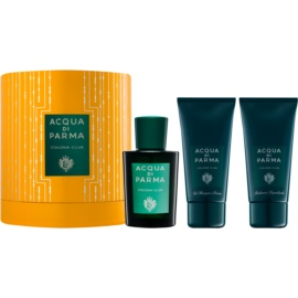 Acqua di Parma Colonia Club Gift Set II.  Cologne 100 ml + Shower Gel 75 ml + Aftershave Balm 75 ml