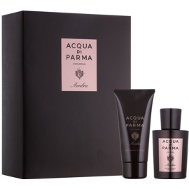 Acqua di Parma Ambra Gift Set  I.  Eau de Cologne 100 ml + Douchegel 75 ml