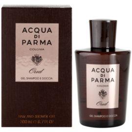 Acqua di Parma Colonia Oud sprchový gel pro muže 200 ml