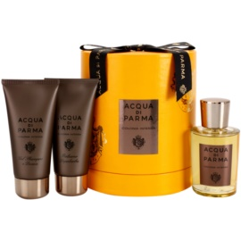 Acqua di Parma Colonia Intensa ajándékszett I.  Eau de Cologne 100 ml + borotválkozás utáni balzsam 75 ml + tusfürdő gél 75 ml