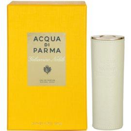 Acqua di Parma Gelsomino Nobile Eau de Parfum für Damen 20 ml + mit ledernem Etui