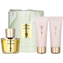 Acqua di Parma Gelsomino Nobile Geschenkset II.  Eau de Parfum 100 ml + Körpercreme 75 ml + Duschgel 75 ml