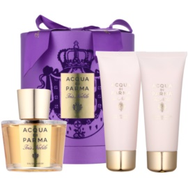 Acqua di Parma Iris Nobile Gift Set II.  Eau De Parfum 100 ml + Body Lotion 75 ml + Shower Gel 75 ml