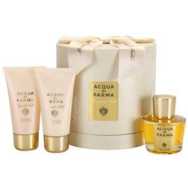 Acqua di Parma Magnolia Nobile dárková sada I. parfémovaná voda 50 ml + sprchový gel 50 ml + tělový krém 50 ml